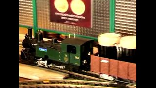 Model Train Restaurant - Video