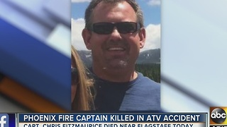 Phoenix fire captain dies in ATV accident while in Flagstaff - Video