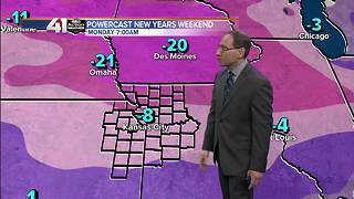 Jeff Penner Friday Evening Forecast Update 12 29 17 - Video