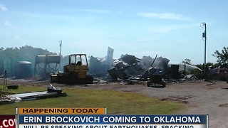 Environmental advocate Erin Brockovich is coming to Oklahoma - Video