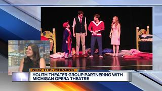 Youth theater teams up with Michigan Opera Theatre - Video
