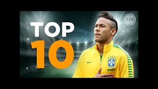 Top 10 Brazil Goalscorers - Video