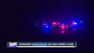 15-year-old girl leads officers on high speed chase - Video