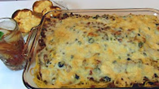 Betty's layered spaghetti casserole