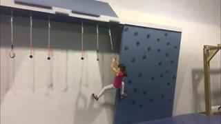 Omaha children's ninja camp at Fitnest - Video