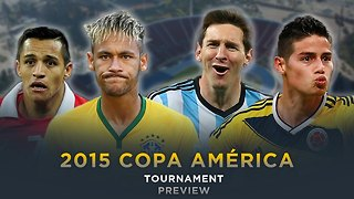 #FDW 2015 COPA AMÉRICA TOURNAMENT PREVIEW - Video