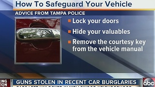 Wellswood neighborhood concerned about car burglaries, gun thefts