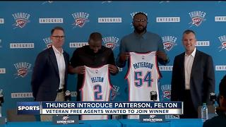 Thunder fans gather at airport to welcome Paul George to Oklahoma City - Video