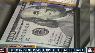 Bill wants Enterprise Florida to be accountable - Video
