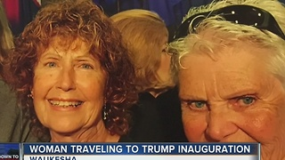 Local Trump supporter headed to inauguration - Video