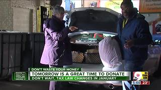 End of year is great time to donate - Video