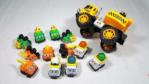 Bruder Toy Trucks for Kids - trucks, tractors, excavators for kids