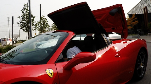 Ferrari 458 Convertible Supercar Has A Seriously Cool Feature