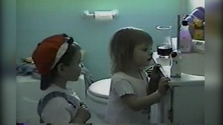 Cute Kids Amazed By Baby Monitor - Video