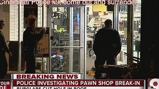 Police investigating pawn shop break-in - Video
