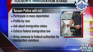 If Trump tries mass deportation Tucson will fight it - Video
