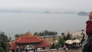 Beautiful scene at CAI BAU temple - Video