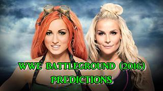 WWE Battleground (2016) Becky Lynch vs. Natalya Predictions - Video