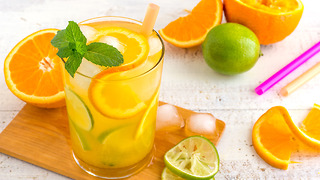 Super Easy Cuban Orange Mojito