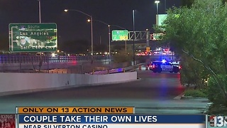 Couple dead after jumping from parking garage identified - Video