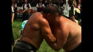 Oily Wrestling - Video