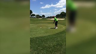 The Greatest Reaction To A Golf Fail - Video