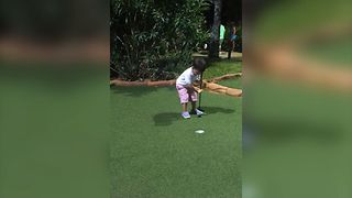 Cutest Game of Mini Golf - Video