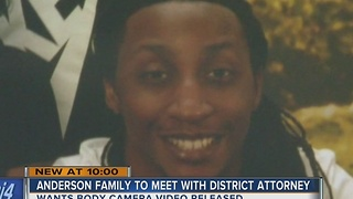 Jay Anderson's family to meet with DA next week - Video
