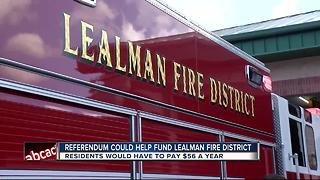 Fire district hopes residents approve flat fee - Video