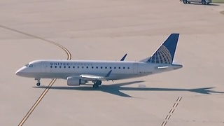 Video shows grounded flights after shooting at Oklahoma City airport - Video