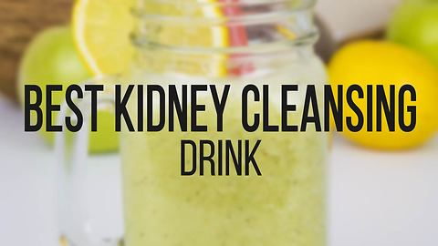 Kidney cleansing drink recipe