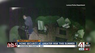 4 tips to keep your home safe from burglars this summer