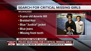 Three Milwaukee Sisters Critically Missing - Video