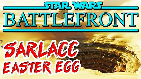 Star Wars Battlefront: Sarlacc pit, R2-D2 and C-3PO Easter eggs