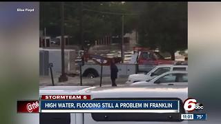 High water, flooding still a problem in Franklin - Video