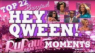 Top 22 Buzziest RuPaul's Drag Race Moments on Hey Qween! Part 4: Moments #5-1 - Video
