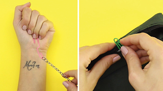 6 Life hacks with paper clips - Video