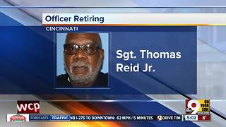 Cincinnati's longest-serving police officer retiring Thursday - Video