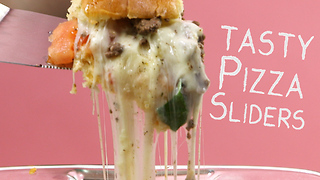 How to make tasty pizza sliders - Video
