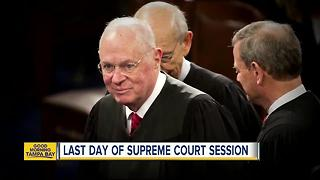 Washington awaits to see if Justice Anthony Kennedy will announce his retirement on Monday - Video