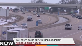 Wisconsin transportation study considers interstate tollways - Video