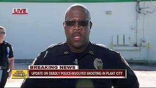 One dead in Plant City officer-involved shooting - Video