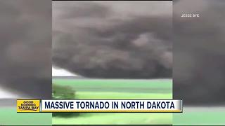 Man witnesses massive tornado