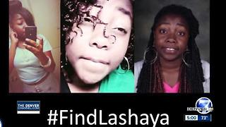 A year after Lashaya Stine's disappearance in Aurora, family again makes public plea - Video