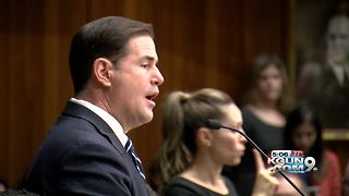 Gov. Doug Ducey calls for more school funding, new opioid law - Video
