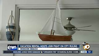 Vacation rental hosts join fight on city ruling - Video