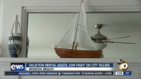 Vacation rental hosts join fight on city ruling