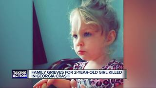 2-year-old killed in crash after family leaves Florida to escape Hurricane Irma - Video