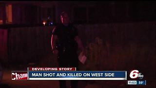 Man found shot to death on Indianapolis' north side - Video
