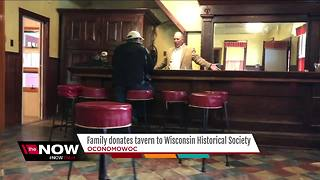 Century-old tavern donated to Wisconsin Historical Society - Video